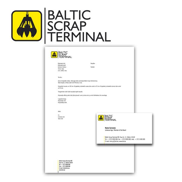 BalticScrapTerminal firmastiil