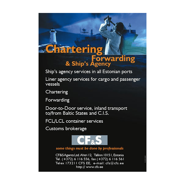 CFS reklaami kujundus