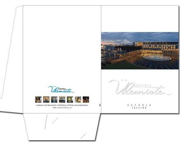 Hotell Ulemiste mappi kujundus