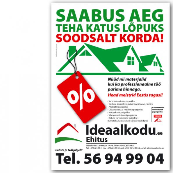 Ideaalkodu_reklaamplakat