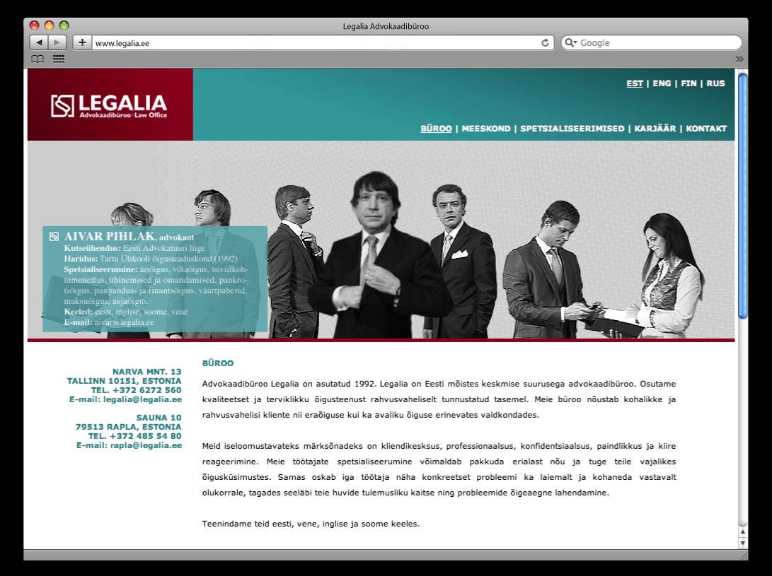 Legalia web2