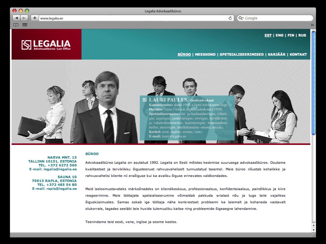 Legalia web31