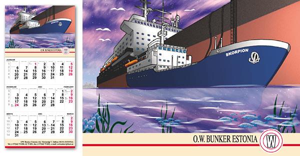 OWbunker kalender