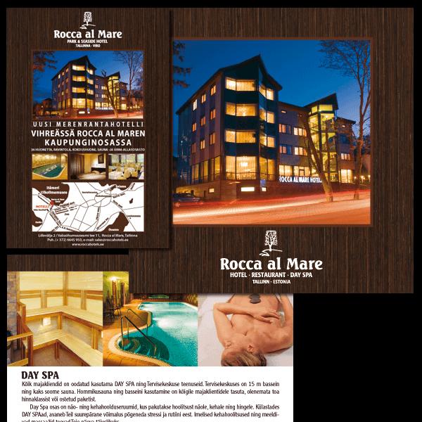 RoccaAlMare hotelli voldiku kujundus