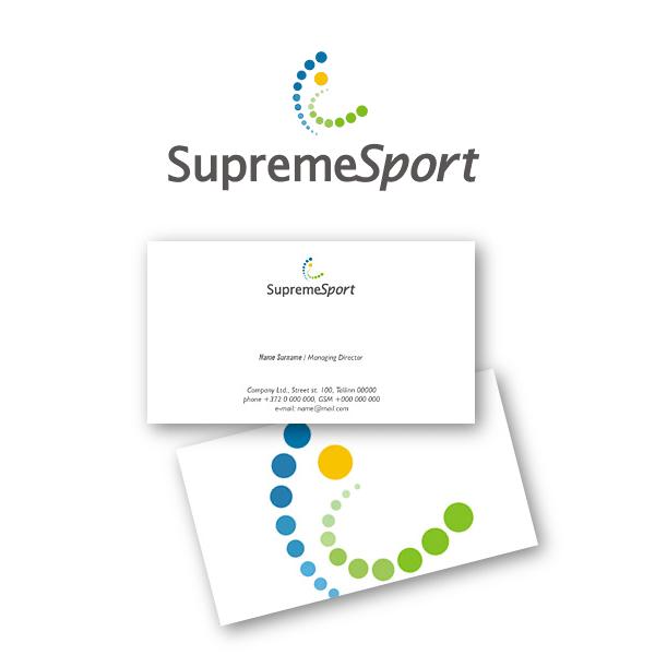 SupremeSport  firmastiili kujundus