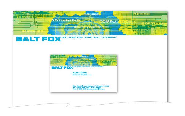 baltfox firmastiili kujundus cvi