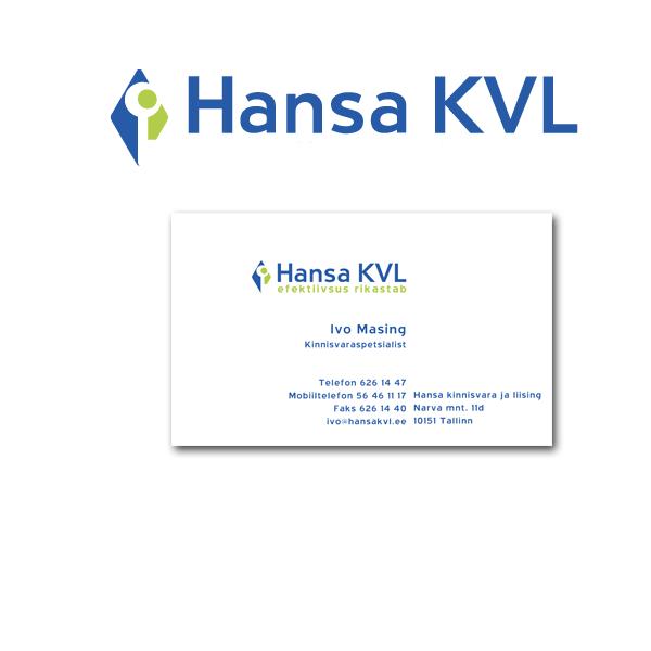 hansaKVL firmastiili kujundus cvi