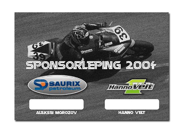 sponsorlepingu kujundus