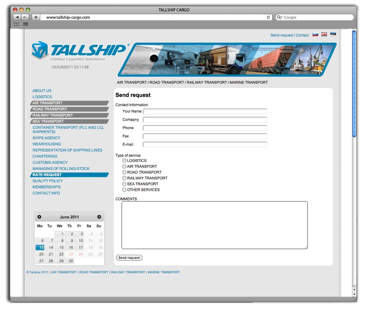 tallship webdesign kodulehe loomine2 big
