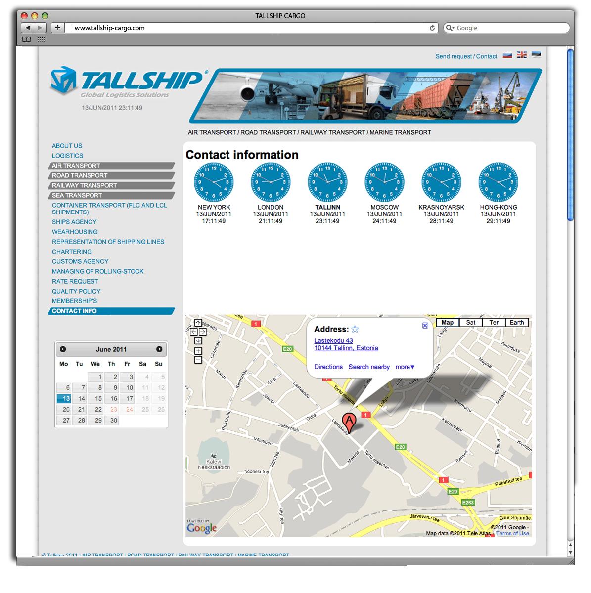 tallship webdesign kodulehe loomine3 big