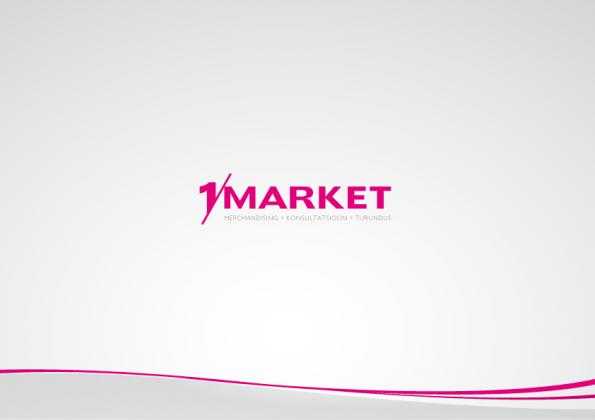 Дизайн презентации для 1 Market