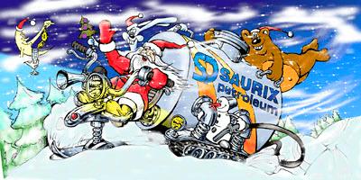 дизайн рождественских открыток