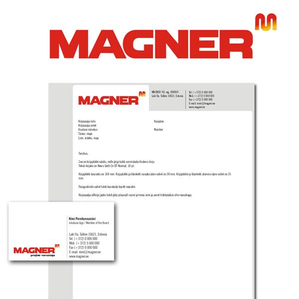 Magner firmastiili kujundus