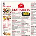 Maharaja menu small