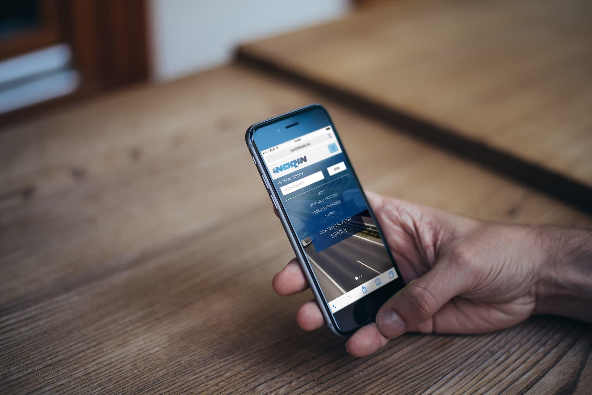 mobillse kodulehe tegemine