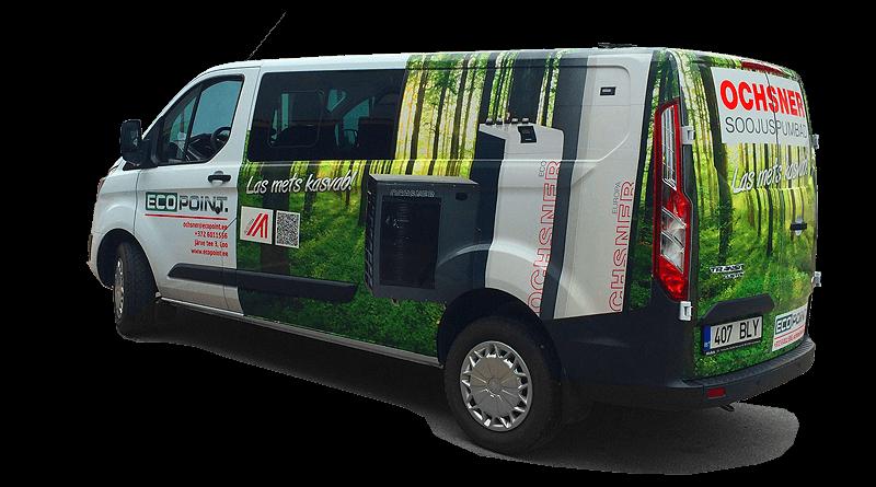 EcoPoint TRANSIT3 auto kujundus ja ulekleepimine big