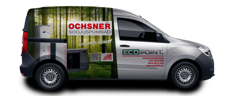 EcoPoint auto kujundus Dacia big