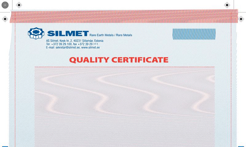 Silmet sertifikaat