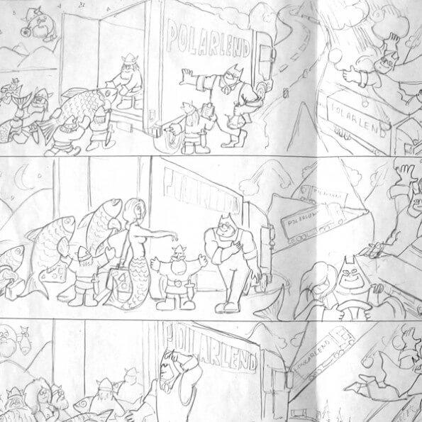 Koomiksi joonistamine, illustratsioonid