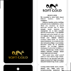 SoftGold tag disain small