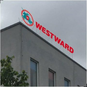valisreklaami disain westward
