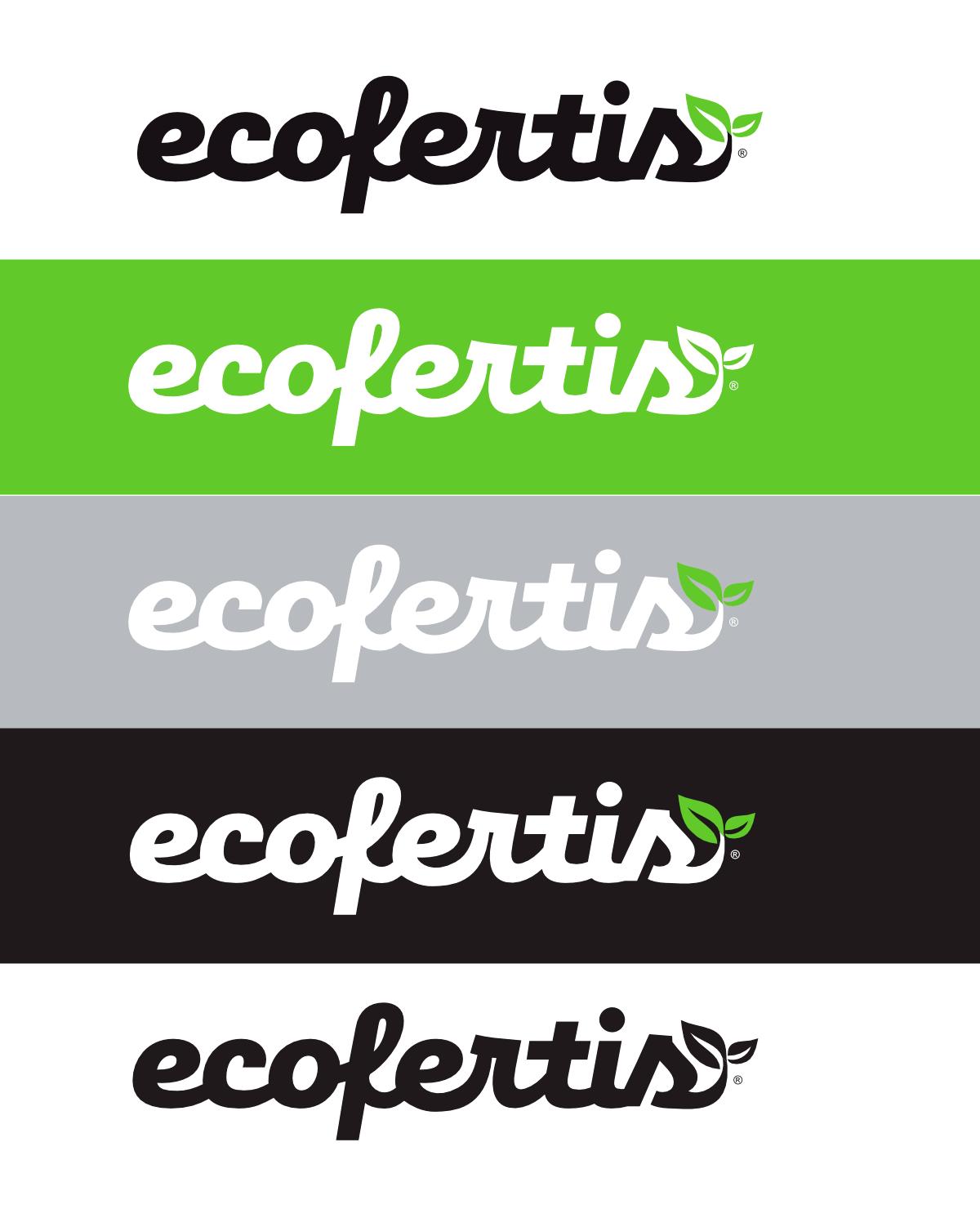 Väetiste tootja Ecofertis logo kujundus