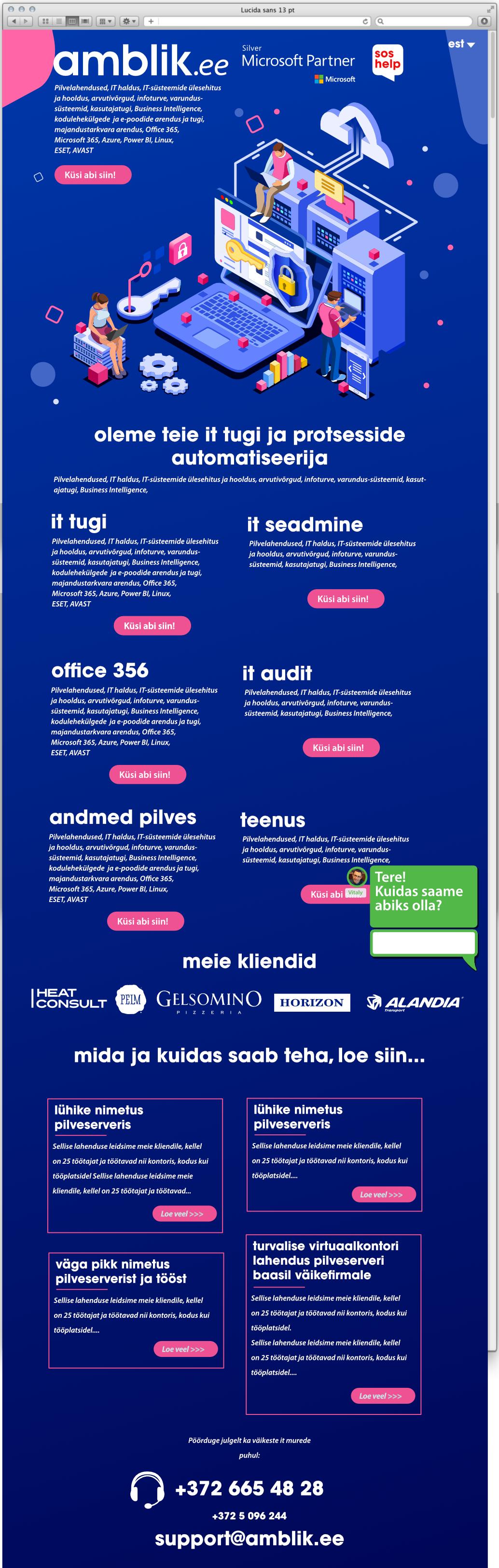 amblik web desk