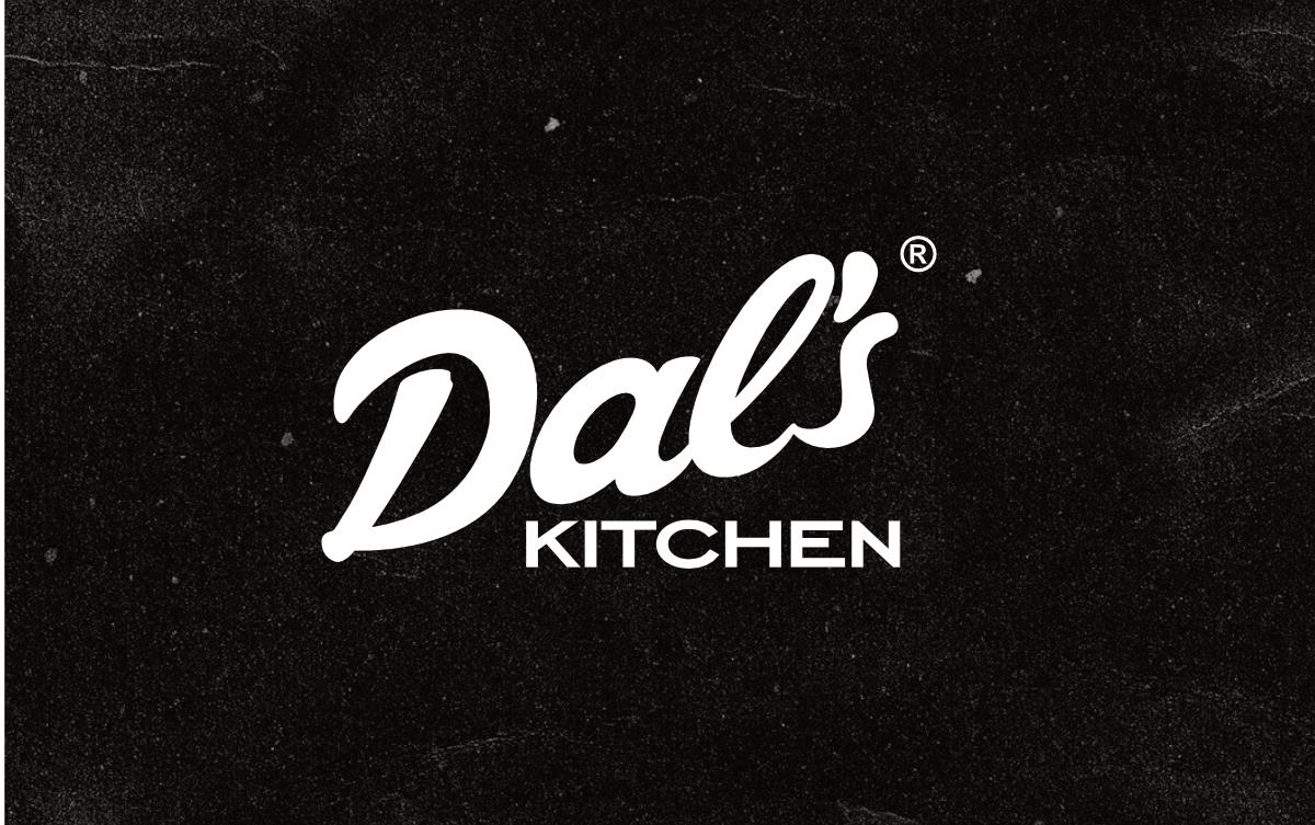 dals kitchen logo kujundus bränding big