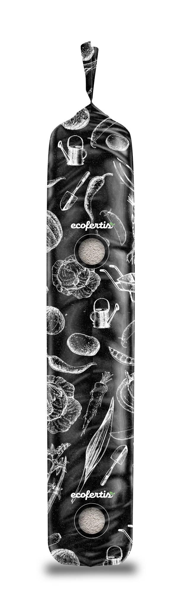 Дизайн упаковки для удобрений Ecofertis