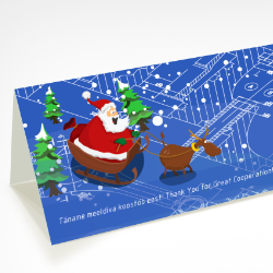 joulukaardi disain kujundus trukk reneko2019 small