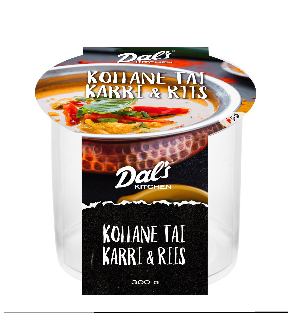 pakendi kujundus dalskitchgen thai curry