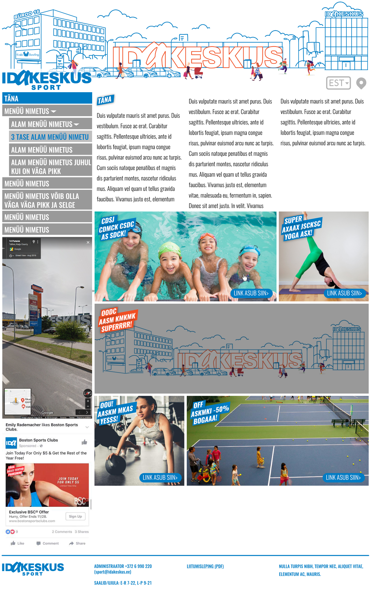 Idakeskus sport desktop