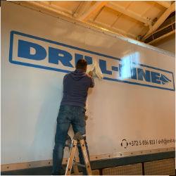 Drill Line veoauto kleebised ulekleebimine small