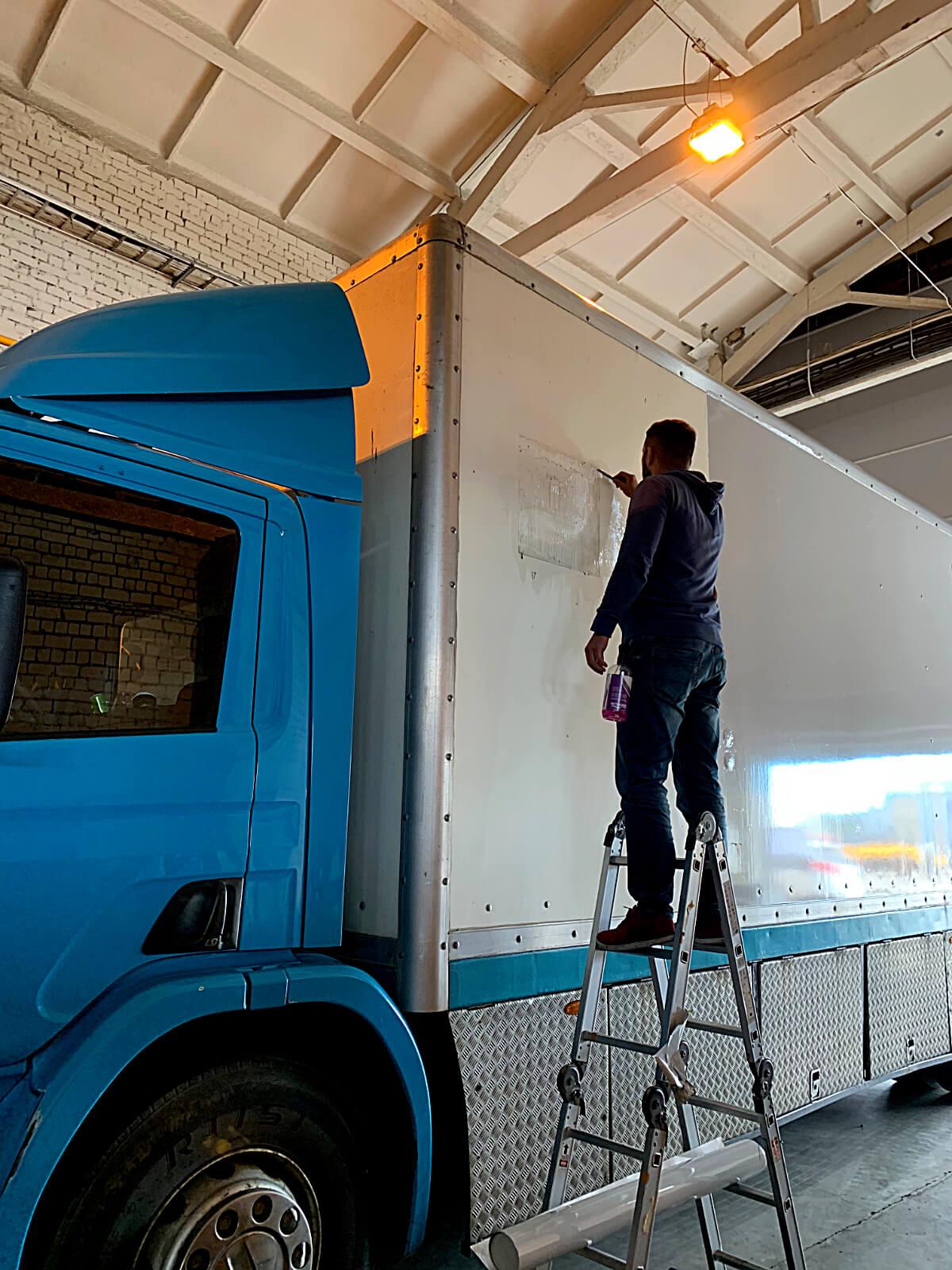 Drill Line veoauto kleebised ulekleepimine 1