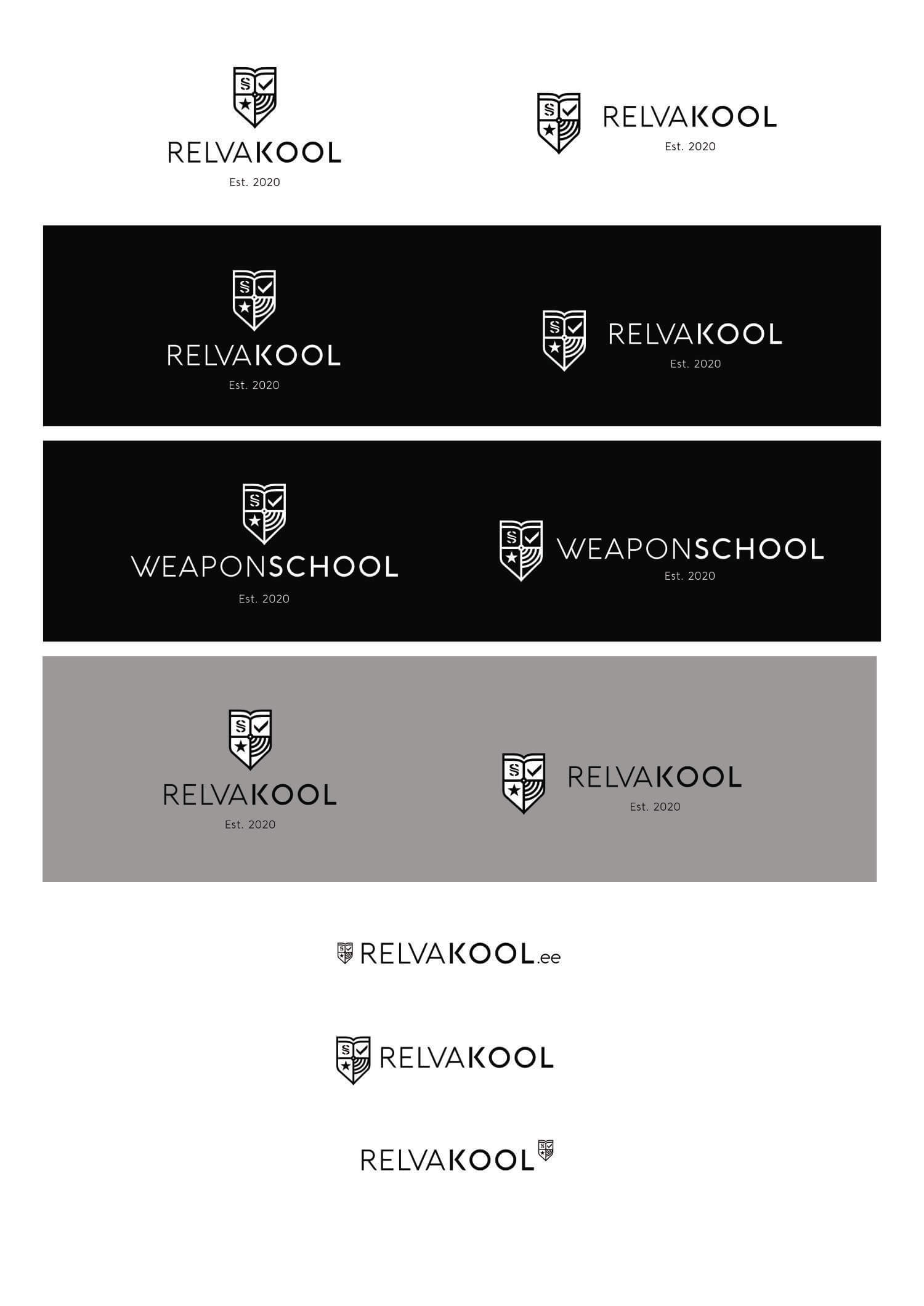 Relvakool branding big